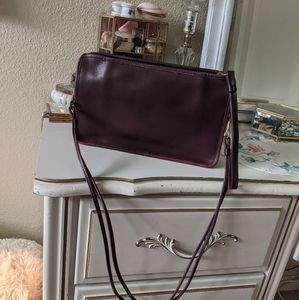Vintage Coach Burgundy Basic bag